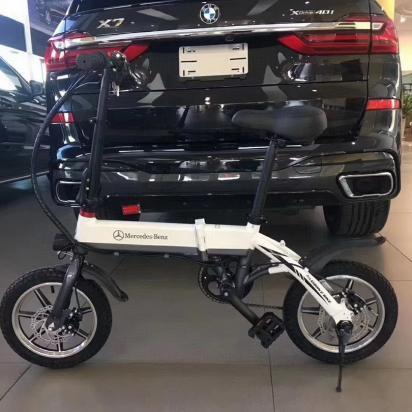 奔驰14寸高强度内置折叠车